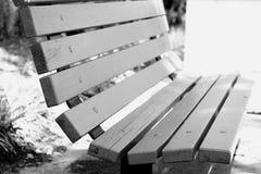 空的长凳 库存照片