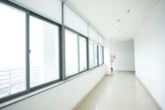 空的长的走廊 免版税图库摄影