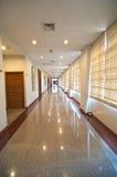 空的长的走廊 图库摄影