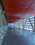 空的长的走廊 免版税库存图片