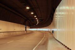 空的隧道 免版税库存图片