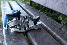 空的鞋子 免版税图库摄影
