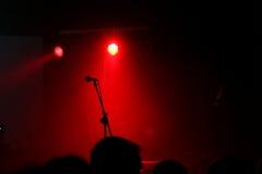 空的音乐会阶段 库存图片
