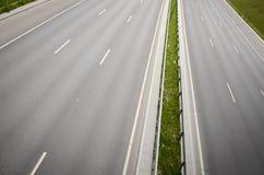 空的高速公路 库存照片