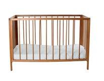 空的婴儿床 库存照片