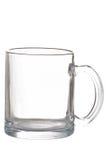 空的玻璃杯子 库存图片