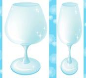 空的玻璃 向量例证
