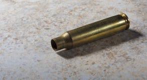 空的AR-15黄铜 图库摄影