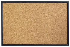 空的corkboard。 免版税库存图片