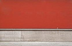 空的grunge老纹理墙壁 免版税库存图片