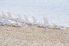 空置海滩 库存图片