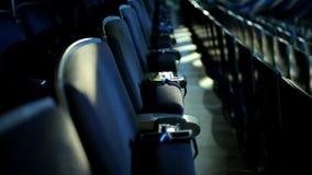 空观众席的戏院 股票录像