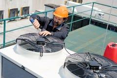空调修理, 图库摄影