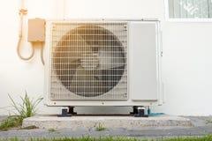 空调压缩机,冷却系统 免版税库存图片