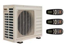 空调器例证分开的系统 库存图片