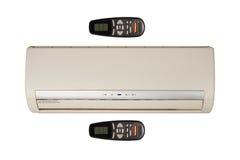 空调器例证分开的系统 免版税图库摄影