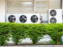 空调器压缩机单位  库存照片