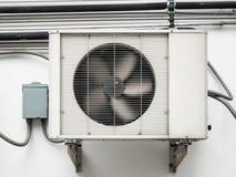 空调器压缩机单位 图库摄影