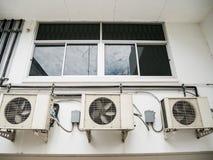 空调器压缩机单位 免版税图库摄影