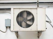 空调器压缩机单位 免版税库存照片