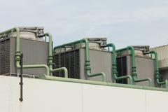 空调器室外单位  免版税库存照片