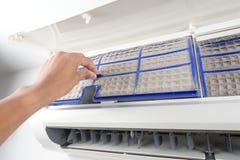 空调器过滤器 库存图片