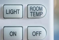 空调器遥控 库存照片