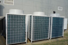 空调器部件 免版税库存图片