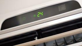 空调器移动的元素 4k UltraHD录影 股票视频