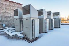 空调系统三菱 免版税图库摄影