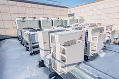 空调系统三菱 库存图片