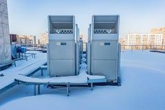 空调系统三菱 库存照片