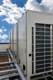 空调系统 库存例证