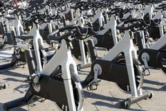 空转的自行车 库存照片