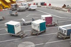 空运货物容器 免版税库存图片