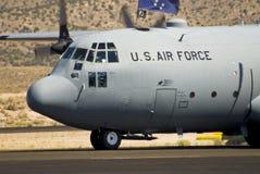 空运货物强制飞机 免版税图库摄影
