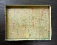 空配件箱的纸板 库存图片