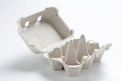空配件箱的鸡蛋 库存图片