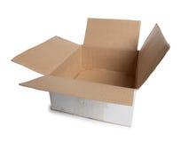 空配件箱的纸板 库存照片
