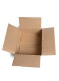 空配件箱的纸板 免版税图库摄影
