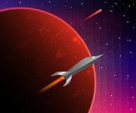 空间冒险旅行 免版税图库摄影