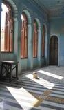 空间在Udaipur宫殿 库存照片