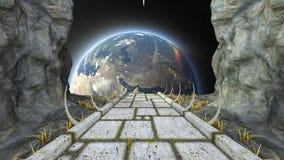 空间堡垒 影视素材