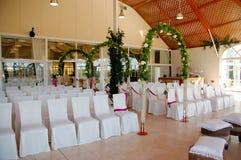 空间婚礼 免版税库存照片