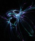 空间幻想,黑洞反常现象 库存例证