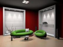 空间沙发 库存例证