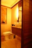 空间洗手间 免版税图库摄影