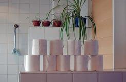 空间洗手间 图库摄影