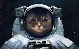 空间科学小说图象 美国航空航天局装备的这象元 免版税库存照片