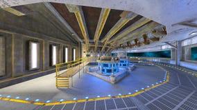 空间站3D CG翻译  向量例证